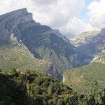 Canyon Anisclo, Standplatz