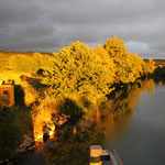 Abendstimmung an der Meuse
