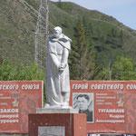 Kriegerdenkmal Ust-Kaan