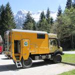 Parkplatz am Karwendel