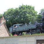 Dampflok bei Pontrieux