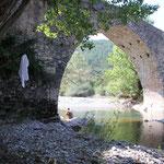 Römerbrücke bei Hecho