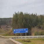 Novosibirsk 1301km, Di. 08.10.
