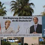 Wahlplakat in Selvis