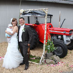 Brautpaar mit Sarah