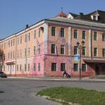 Häuserfassade im Zentrum