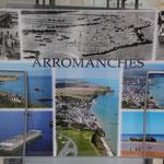 Arromanches damals und heute