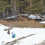 Wintersport, Puerto de la ragua, 1950 m, Sierra Nevada