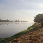 Morgenstimmung am Standplatz Loire