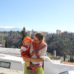 Stephanie,Sarah, Hintergrund Alhambra