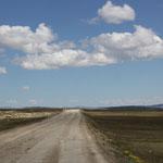 Mongolische Strassen heißen uns willkommen