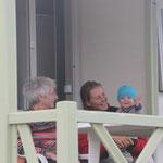 Urlaub auf der Terrasse