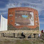 Mosaik von Mongolei bei Kharakorum