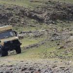 Flussdurchfahrt Suman Gol, geschafft