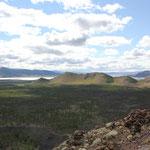 Blick zum Tsagaan Nuur