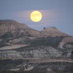 Mondaufgang Pèna di Fraile