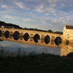 Brücke von Montrichard, Standplatz