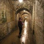 Bunkergang, Fort Vaux bei Verdun