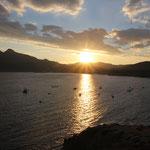 Sonnenunntergang, La Isletta, Capo de Gata