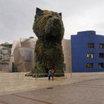 Platz vor dem Guggenheimmuseum, Bilbao