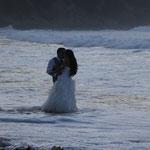 Hochzeitsfotoshooting Playa de Laga