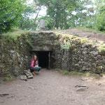 Hügelgrab ca. 4500 vor Christus