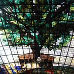 Glasdach im Casa di Junta (Regierungshaus) Gernika