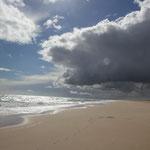 Wolkenspiel bei Monte Goordo, Atlantik