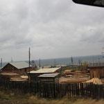 Dorf am Baikal