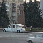 Hochzeitskutschenauto in Zythomir