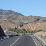 Ruta del Alpujarra, Almeria