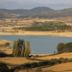am Standplatz Embalse di Alloz