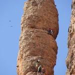 Kletterer Los Malos