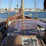Sicht des Skippers auf der Noah