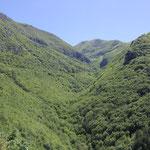 Blick vo Kloster ins Bergtal