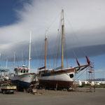 Boot Noah in der Werft
