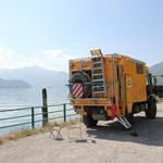 Standplatz am Lago Iseo