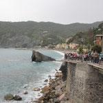 Touristen Rush hour in Monte Rosso
