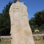 christianisierter Menhir