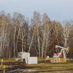 Ölpumpem am Wegesrand