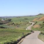 Weiter Richtung Embalse de Guadalhorce