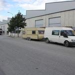 Standplatz Motril, Werkstatt