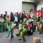 TSV Malsch Dream Team - Schildkröten Karate Power - Ninja Turtels auf der Lauer