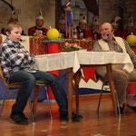 2011 - der Opa und sein Enkel
