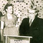 Stumpf Eugenie / Rösch Stefan 1953/54