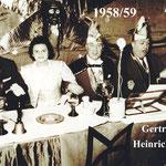 Laier Gertrud / Oestringer Heinrich 1958/59