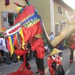 Golden Girls - Chinesischer Tanzdrachen