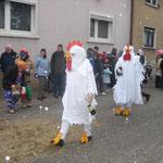 Verein der Vogelfreunde - Verrückte Hühner