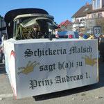 Schickeria - Schickeria Malsch sagt H(i)a zum Prinzen
