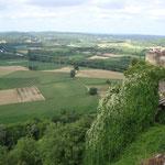 Vue sur la vallée de la Dordogne